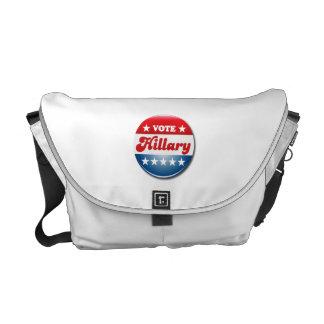 VOTE HILLARY CLINTON MESSENGER BAG