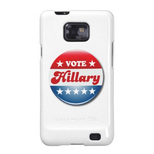 VOTE HILLARY CLINTON.png Galaxy S2 Covers