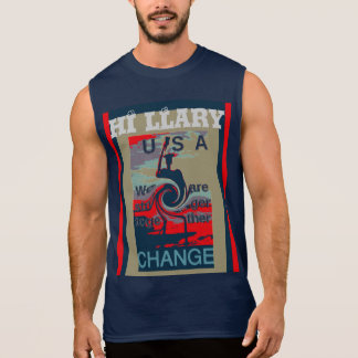 VOTE Hillary For USA we are stronger together Sleeveless T-shirt