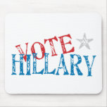 Vote Hillary Mouse Pad