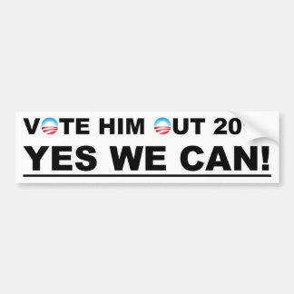 Vote Him Out Car Bumper Sticker