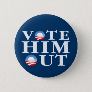 Vote Him Out Button