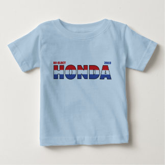 Vote Honda 2010 Elections Red White and Blue Baby T-Shirt