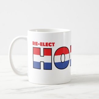 Vote Honda 2010 Elections Red White and Blue Coffee Mug