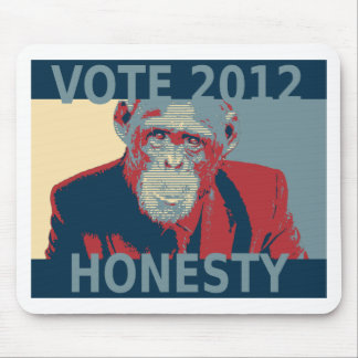 Vote Honesty 2012 Mouse Pad