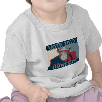 Vote Honesty 2012 Tshirt