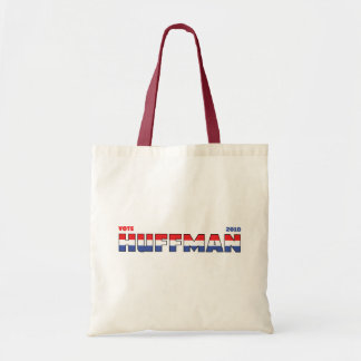 Vote Huffman 2010 Elections Red White and Blue Bag