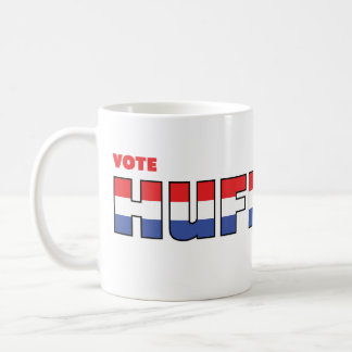 Vote Huffman 2010 Elections Red White and Blue Coffee Mugs