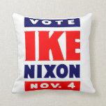 Vote Ike, Nixon in 1952 Pillow