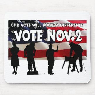 Vote in November Mouse Pad