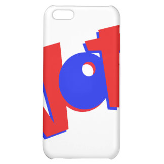 VOTE in red and blue text bouncy election swag iPhone 5C Cases