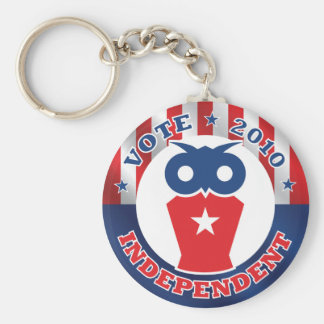 Vote Independent 2010 Key Chain