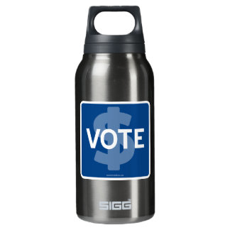 $ VOTE INSULATED WATER BOTTLE