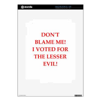 VOTE iPad 2 DECAL