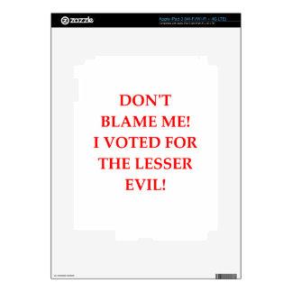 VOTE iPad 3 DECAL