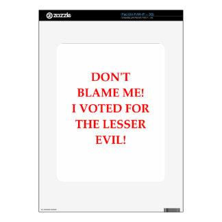 VOTE iPad DECALS