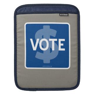 $ VOTE iPad SLEEVE