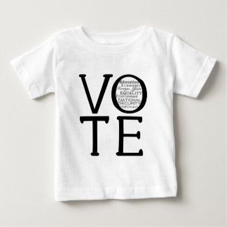 Vote Issues Baby T-Shirt