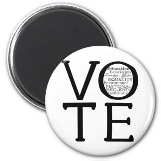 Vote Issues Magnet