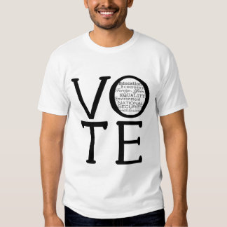 Vote Issues T Shirt