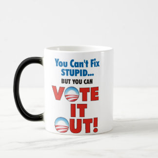 Vote it Out 11 Oz Magic Heat Color-Changing Coffee Mug