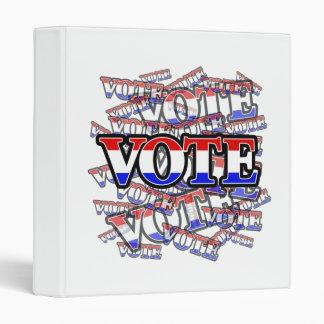 Vote - It's your Duty Binders