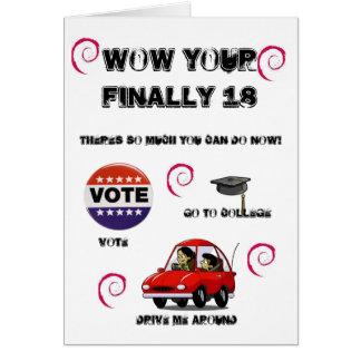 vote, iz042005, 006_cartoon_car_01, YCAG5SH94CA... Card