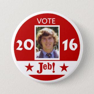 Vote Jeb 2016 Pinback Button