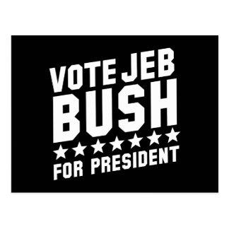 Vote Jeb Bush Postcard