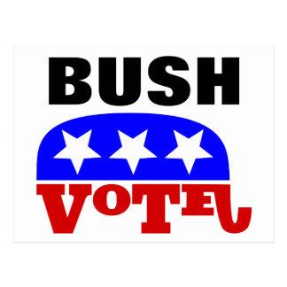 Vote Jeb Bush Republican Elephant Postcard