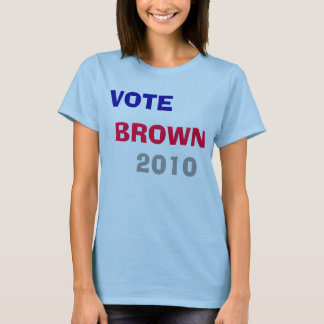 Vote Jerry Brown T-Shirt