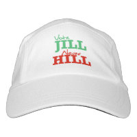 Vote Jill Never Hill - - Jill Stein 2016 - Headsweats Hat