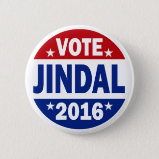 Vote Jindal 2016 Pinback Button