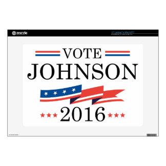 """Vote Johnson 2016 Skins For 15"""" Laptops"""