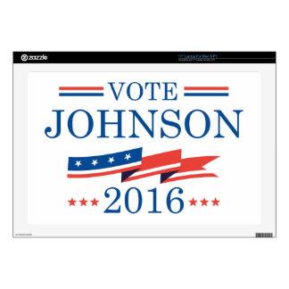 """Vote Johnson 2016 Skins For 17"""" Laptops"""