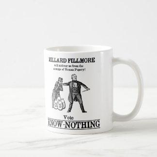 Vote Know Nothing Coffee Mug
