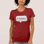 Voté la camisa