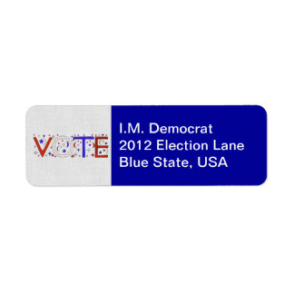 VOTE LABEL