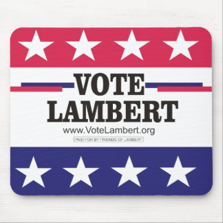 Vote Lambert Mousepad