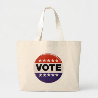 Vote! Large Tote Bag