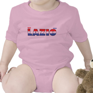 Vote Lazio 2010 Elections Red White and Blue T Shirt