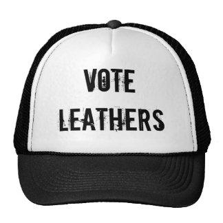 VOTE LEATHERS TRUCKER HAT