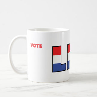 Vote Lee 2010 Elections Red White and Blue Coffee Mug