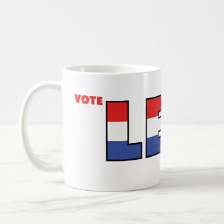 Vote Levi 2010 Elections Red White and Blue Coffee Mug