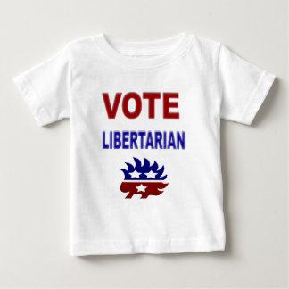 Vote Libertarian Baby T-Shirt