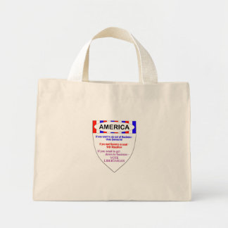 vote libertarian canvas bags