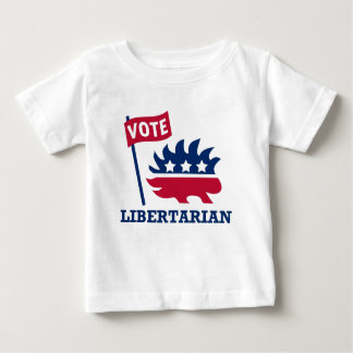 VOTE LIBERTARIAN - freedom/liberty/constitution Baby T-Shirt