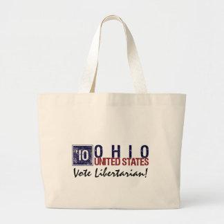 Vote Libertarian in 2010 – Vintage Ohio Tote Bags