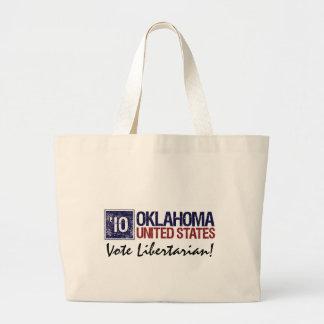 Vote Libertarian in 2010 – Vintage Oklahoma Tote Bag