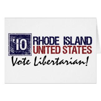 Vote Libertarian in 2010 – Vintage Rhode Island Greeting Cards